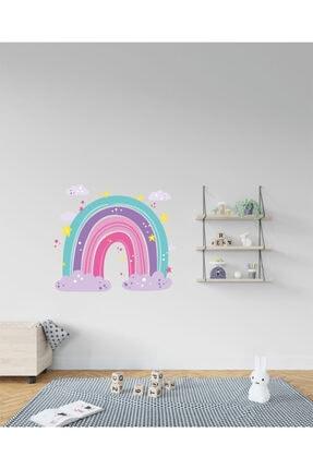 AND Sticker Renkli Gökkuşağı 2 Dekoratif Çok Amaçlı Çocuk Odası Duvar Sticker 3