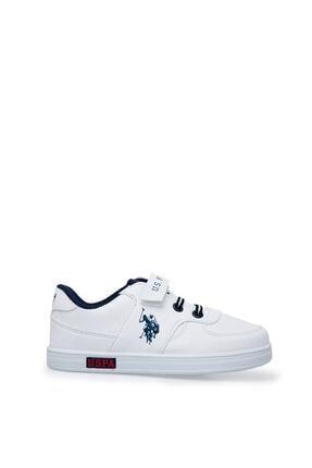 US Polo Assn Cameron Beyaz Erkek Çocuk Sneaker Ayakkabı 100380400 0