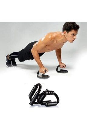 Trend Avenue S Şekli Push Up Standı Alüminyum Şınav Aleti Spor Aracı Fitness Göğüs Egzersiz Ekipmanları 0