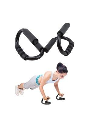 Trend Avenue S Şekli Push Up Standı Alüminyum Şınav Aleti Spor Aracı Fitness Göğüs Egzersiz Ekipmanları 2