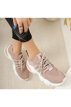 Pudra Triko Bayan Ortapedi Ayakkabı Modelleri OLH964