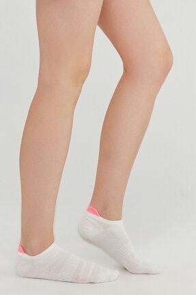 Penti Pembe Gri Beyaz Act.cekcek Neon 3lü Patik Çorap 1