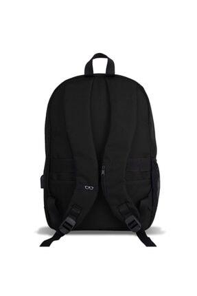 My Valice Smart Bag Specta Usb Şarj Girişli Akıllı Sırt Çantası Siyah 3