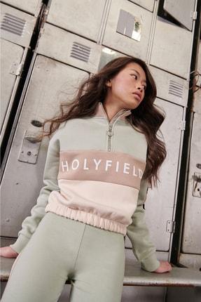 holyfield Kız Çocuk 3 Ip Kışlık Crop Sweatshirt 2