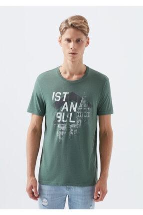 Mavi Yeşil İstanbul Tişört 3