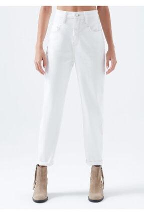 Mavi Kadın Lola Gold Icon Beyaz Jean Pantolon 101076-32652 4
