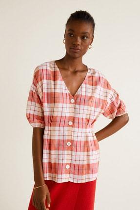 Mango Kadın Kırmızı  Bluz 43057739 1