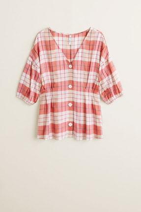 Mango Kadın Kırmızı  Bluz 43057739 2