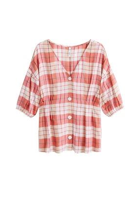 Mango Kadın Kırmızı  Bluz 43057739 3