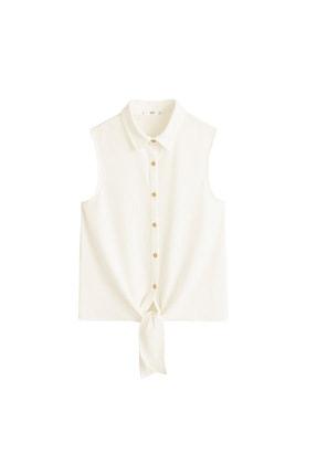 Mango Kadın Kırık Beyaz Bluz 43057773 3