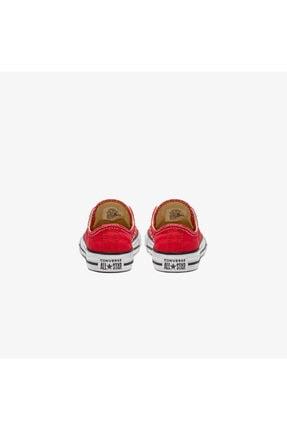 Converse Unisex Çocuk Chuck Taylor All Star Kırmızı Sneaker 3J236C-S 1