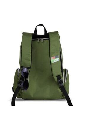 My Valice Smart Bag Mother Star Usb'li Anne Bebek Bakım ve Sırt Çantası Yeşil 3