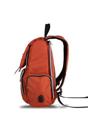 My Valice Smart Bag Mother Star Usb'li Anne Bebek Bakım ve Sırt Çantası Turuncu 2