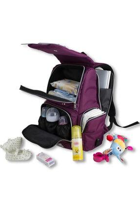 My Valice Smart Bag Mother Star Usb'li Anne Bebek Bakım ve Sırt Çantası Turuncu 4