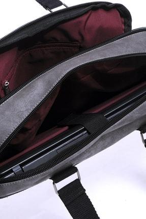 Sword Bag Gri Unisex Laptop & Evrak Çantası 2