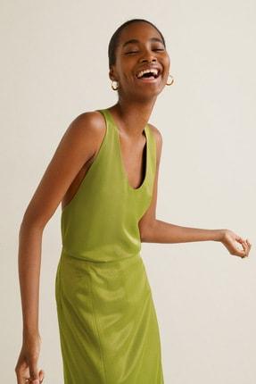 Mango Kadın Parlak Yeşil 41049069 1