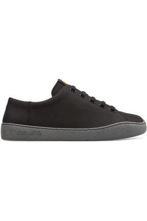 CAMPER Erkek Siyah Bağcıklı Sneaker 0