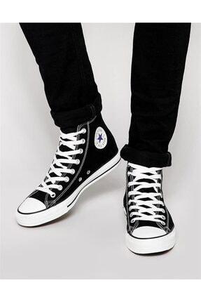 Converse Unisex Siyah Boğazlı Sneaker Ayakkabı M9160 V4 0