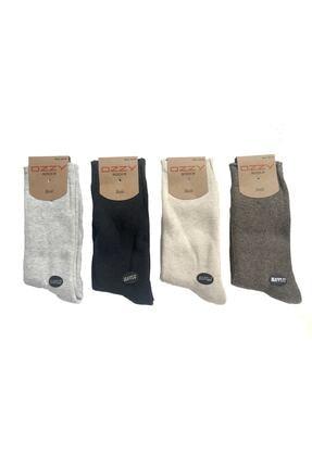 Ozzy Socks 8 Çift Kadın Havlu Soket Çorap Kışlık Dayanıklı Topuk Ve Burun 1
