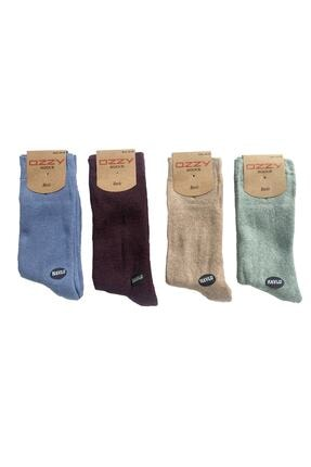 Ozzy Socks 8 Çift Kadın Havlu Soket Çorap Kışlık Dayanıklı Topuk Ve Burun 2