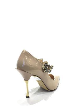 Flower Hakiki Deri Klasik Topuklu Ayakkabı Flw19y-a9068 2