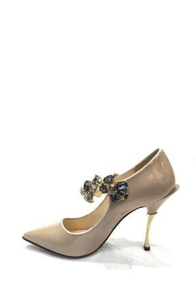 Flower Hakiki Deri Klasik Topuklu Ayakkabı Flw19y-a9068 3