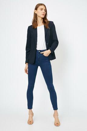 Koton Kadın Mavi Pantolon 0yak47642dd 1