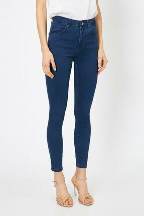 Koton Kadın Mavi Pantolon 0yak47642dd 2