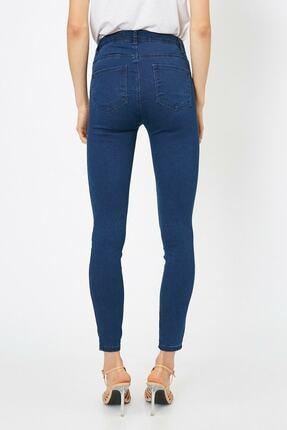 Koton Kadın Mavi Pantolon 0yak47642dd 3