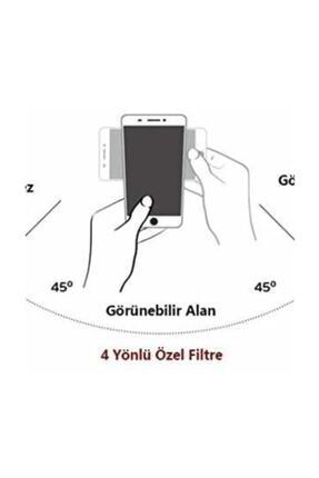 Soffany Apple Iphone Xs Max Privacy Hayalet Cam Ekran Koruyucu Siyah Privacy Xsmax 2
