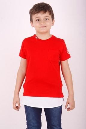 Picture of Erkek Çocuk Cepli Pamuklu Tişört
