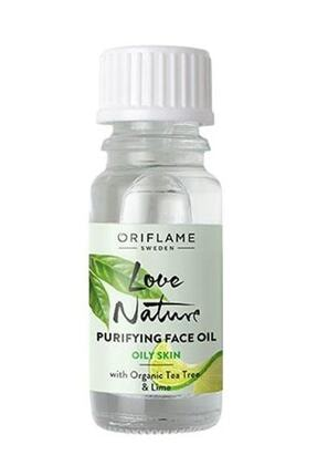 Oriflame Love Nature Arındırıcı Yüz Yağı 10 ml. 0