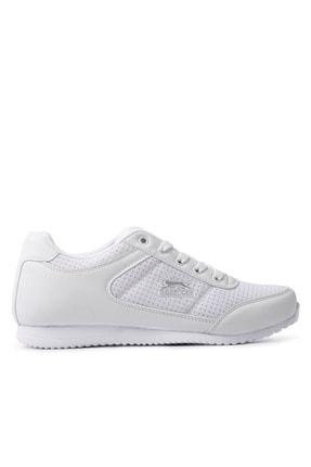 Slazenger Paloma Sneaker Kadın Ayakkabı Beyaz / Gümüş 0
