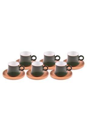 Harem 6 Kisilik Kahve Fincan Takimi Yakut B1307