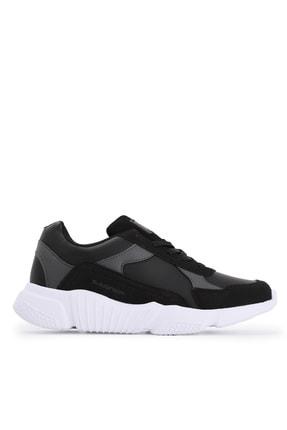 Slazenger INDIANA Sneaker Kadın Ayakkabı Siyah / Beyaz SA20RK069 0