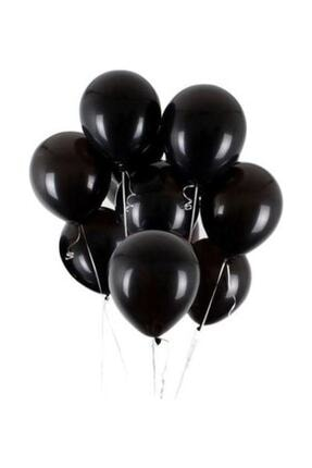 Cakes&Party Metalik Siyah Balon 25li 0