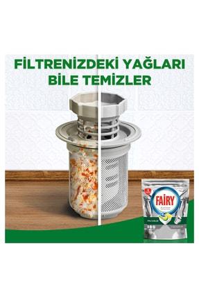 Fairy Platinum 115 Yıkama Bulaşık Makinesi Deterjanı Kapsülü Limon Kokulu 4