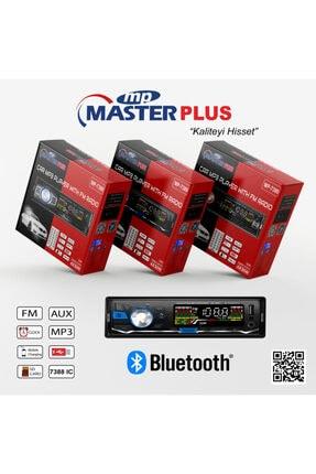 MasterPlus Bluetooth Oto Teyip Araba Teyibi Master Plus Teyb Mp-7389 2