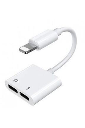 Polygold Iphone Lightning Kulaklık Ve Şarj Adaptörü Dönüştürücü Çevirici 0