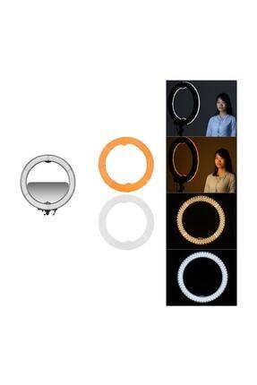 SAYWİN Kuaför Makyaj Çekimleri Ring Light Sürekli 10 inç Işık 2m 2