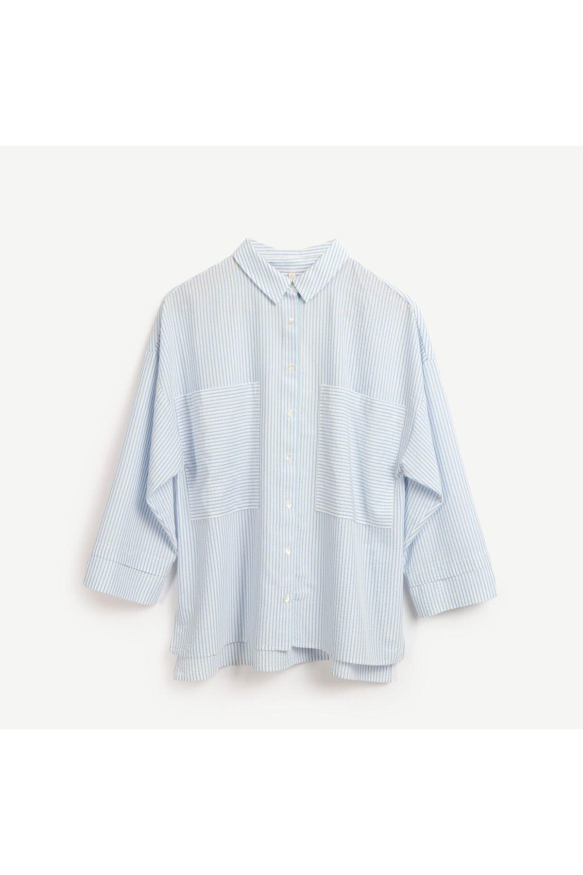 Yargıcı Cep Detaylı Rahat Kalıp Gömlek