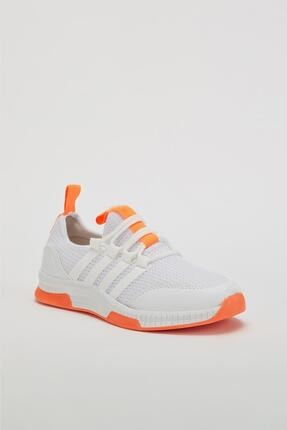 Muggo Unisex Turuncu Sneaker Ayakkabı Mgforce01 1
