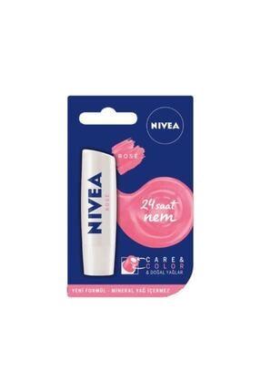 Nivea Care & Colour Pink - Dudak Balmı Pembe 4,8 G 0