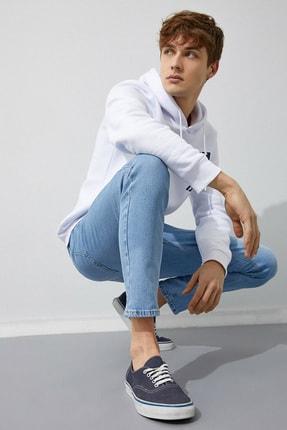 Koton Erkek Açık İndigo Jeans 0