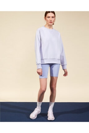 2XI-Lock W Crew Neck Sweatshirt Kadın Lilac Sweatshirt resmi