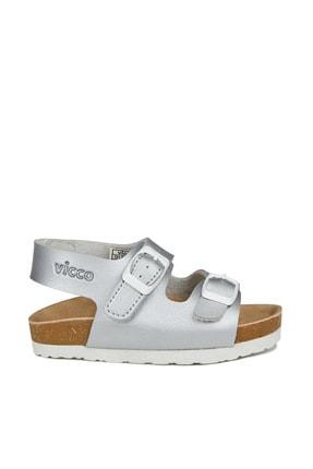 Vicco Last Kız Bebe Gümüş Sandalet 2