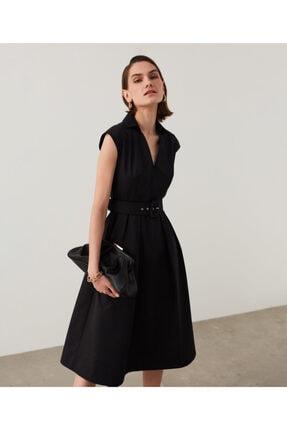 İpekyol Kemerli Midi Elbise 1