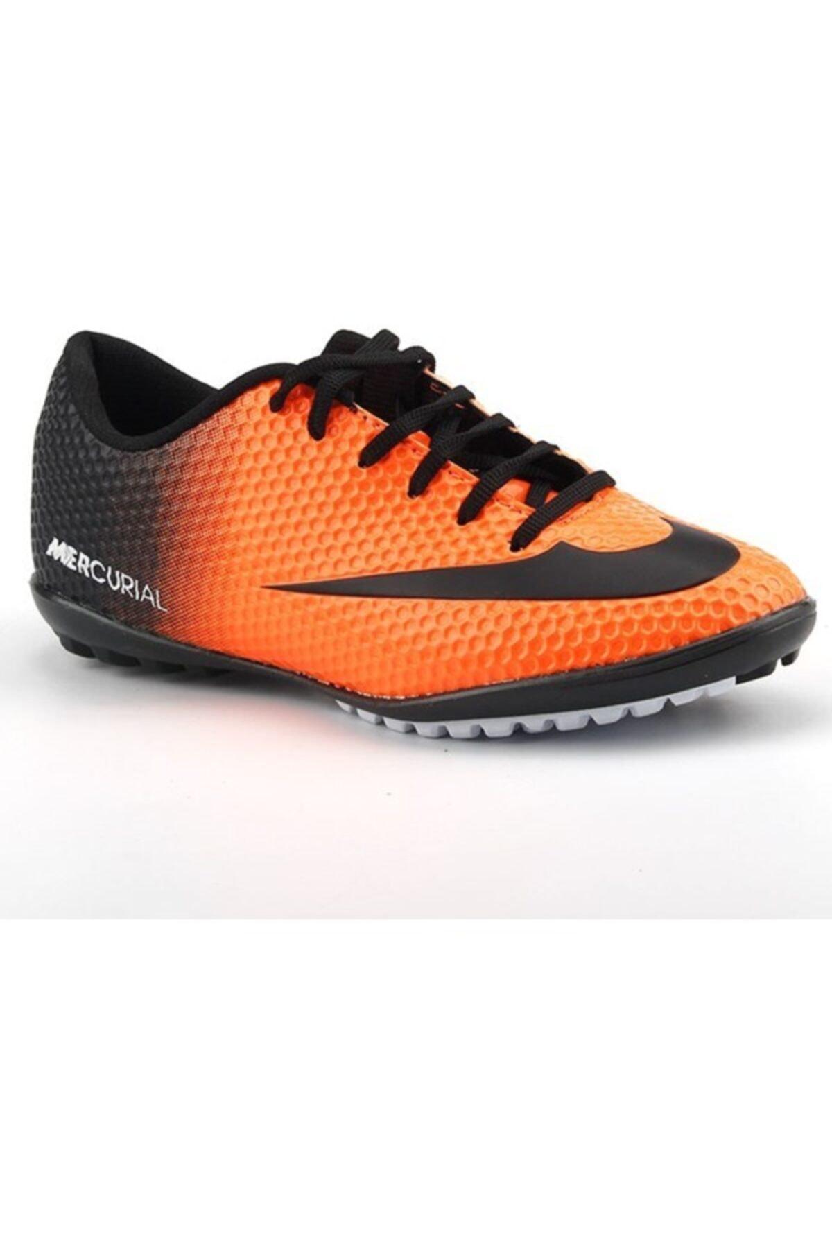 401 Turuncu Çocuk Halısaha Futbol Spor Ayakkabı