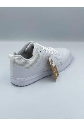 Pierre Cardin Beyaz Cilt Bilekli Spor Ayakkabı 2
