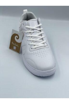 Pierre Cardin Beyaz Cilt Bilekli Spor Ayakkabı 3
